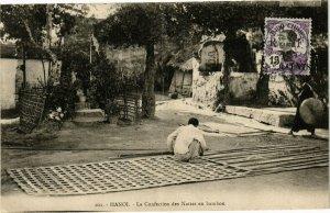 VIETNAM INDOCHINE - Hanoi - La Confection des Nattes en bambou (190152)