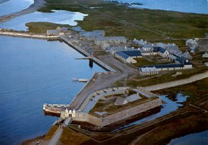 Canada - Nova Scotia, Cape Breton. Fortress of Louisbourg
