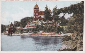 NEW YORK, 1900-10s; Hopewell Hall, Thousand Island, St. Lawrence River