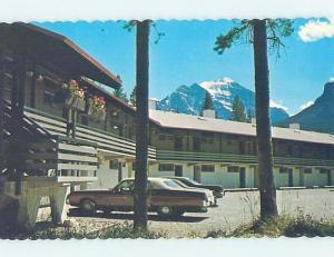 Unused Pre-1980 MOTEL SCENE Lake Louise Alberta AB B5709