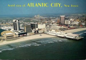 New Jersey Atlantic City Aerial View