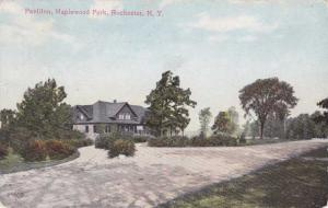 Pavilion at Maplewood Park, Rochester, New York - pm 1910 - DB