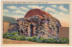 Eastport, Maine, Old Powder House, Captured by British, War 1812