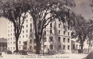 Canada New Brunswick Fredericton Lord Beaverbrook Hotel Real Photo RPPC