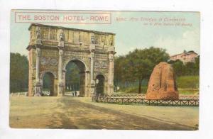 Arco Trionfale Di Constantino Con La Meta Sudans, The Boston Hotel, Rome (Laz...