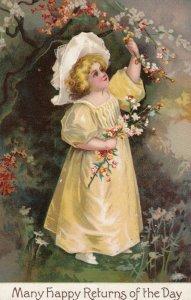 Child picking Flowers, 00-10s
