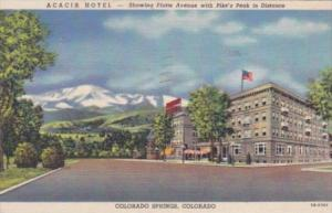 Colorado Colorado Springs The Acacia Hotel 1961