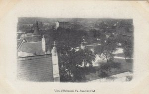 RICHMOND , Virginia ,1901-07 ; View From City Hall