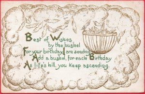 11797 Best of Wishes by the Bushel 1913