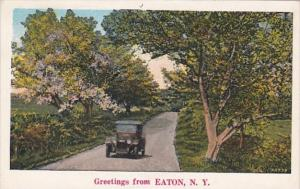 New York Greetings From Eaton 1934