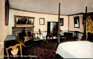 Virginia Mount Vernon Home Of Washington The River Room