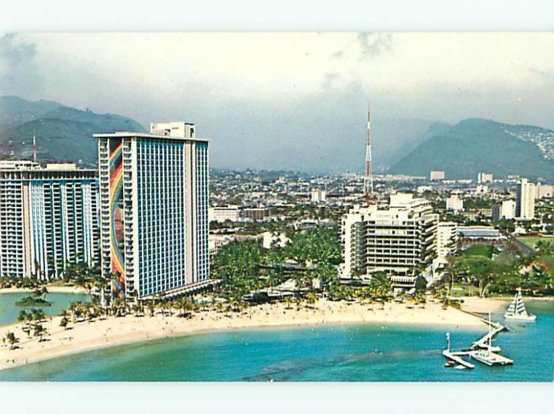Hilton Hawaii Village Waikiki Beach Hawaii Aerial View