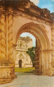 Antigua Guatemala, Central America, Republica de Guatemala Main Gate of the C...