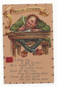 Good Cheer Poem, 1900-10s; TUCK #8