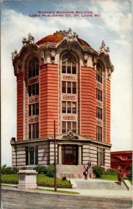 St Louis Missouri~Women's Magazine Building~Lewis Publishing Co~c1910 VO Hammon