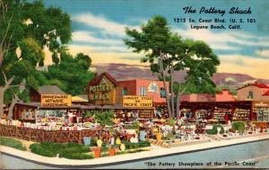 California Laguna Beach The Pottery Shack 1954