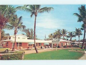 Pre-1980 MALLARD HOUSE MOTEL Riviera Beach Florida FL M2356