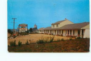 Postcard Jamestown Shores Hotel Motel Rhode Island Cape Cod Newport  # 3333A