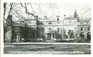 Front view of Roosevelt Home, Hyde Park, New-York unused ...
