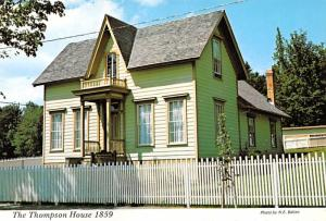 Thompson House 1859 - Port Gamble, Washington