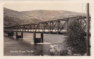 RP: Columbia Bridge , TRAIL , B.C. , Canada , 20-30s