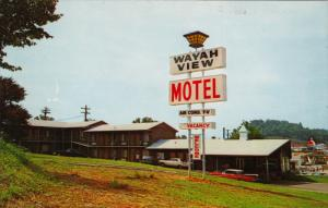 Wayah View Motel, FRANKLIN, North Carolina, 40-60´