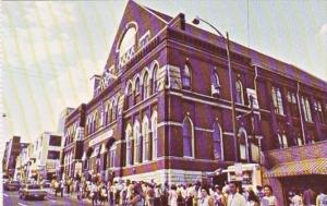 Tennessee Nashville The New Grand Ole Opry House The Ryman Auditorium