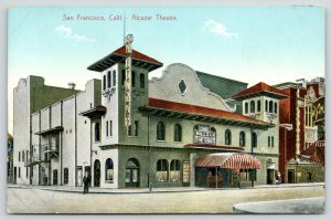 San Francisco~Broadhurst Mills of the Gods* Silent Movie~Alcazar Theatre~1907