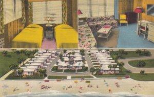 VERO BEACH  , Florida , 1930-40s; Sea Cove Cottages, 3-views