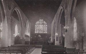 RP: DEVON, England, 1900-10s; Princetown Church Interior