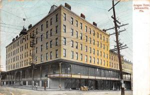 Fla. Aragon Hotel, Jacksonville 1908