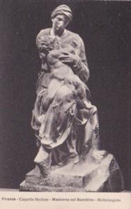Italy Firenze Cappella Medicee Madonna col Bambino Michelangelio