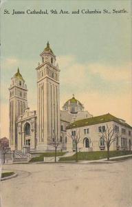 Washington Seattle St James Cathedral 1916
