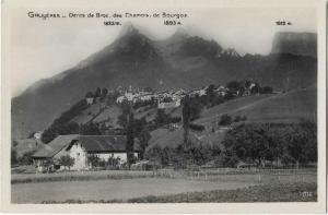 Switzerland Gruyeres dents de broc des Chamois de Bourgoz 01.25