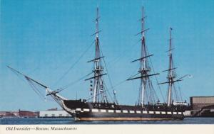BOSTON, Massachusetts; U. S. S. Constitution, Old Ironsides, Sailing Vessel, ...