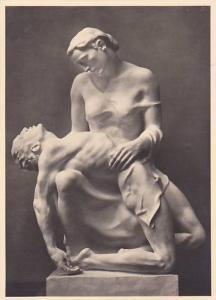 RP, Nude Man & Woman Sculpture, Josef Thorak, Pieta, Haus Der Deutschen Kunst...