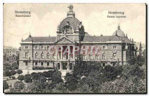 Postcard Strasbourg Old Imperial Palace