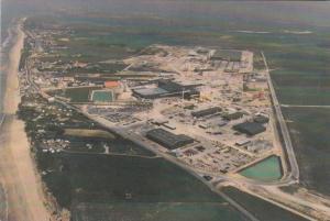 France Sangatte Aerial View Of Sangatte Site 1988 Euro Tunnel Postcard