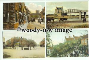 su2122 - 8 Reproduction Postcards by Nottinghamshire Council