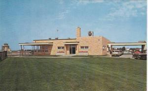 Exterior,Winnebago Airport, Oshkosh, Wisconsin,1940-1960s