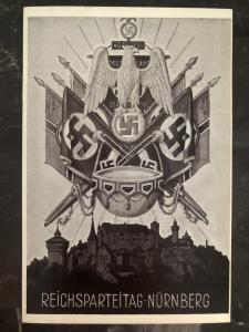Mint Germany  Postcard Nuremberg Rally