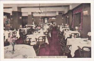 New York Niagara Falls Grill Room Hotel Bristol