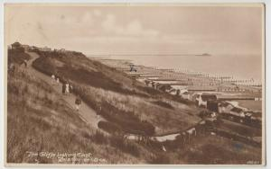 Essex; Cliffs Looking East, Frinton On Sea RP PPC, 1930, To Mr Bennett, Didcot