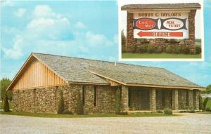 Alma Arkansas~Bobby C Taylors Land Mart~Real Estate Office 1960s Postcard