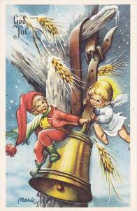 God Jul, Elf and Angel play on bell, 10-20s