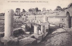 CARTHAGE, Tunisia, 1900-1910´s; L'Amphitheatre