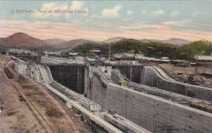 A Bird's Eye View Of Miraflores Locks, Panama, PU-1915