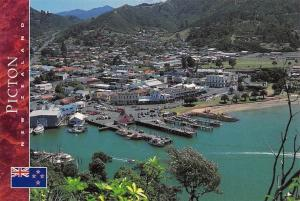 New Zealand Picton Foreshore from Victoria Domain South Island