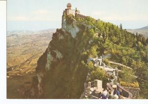 Postal 029692 : Repubblica de San Marino. Seconda Torre e Panorama