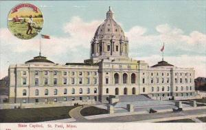 Minnesota Saint Paul State Capitol Building